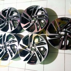 Ukuran Velg All New Yaris Trd Camry Interior Jual Original Hykers 2017 Di Lapak Cmap