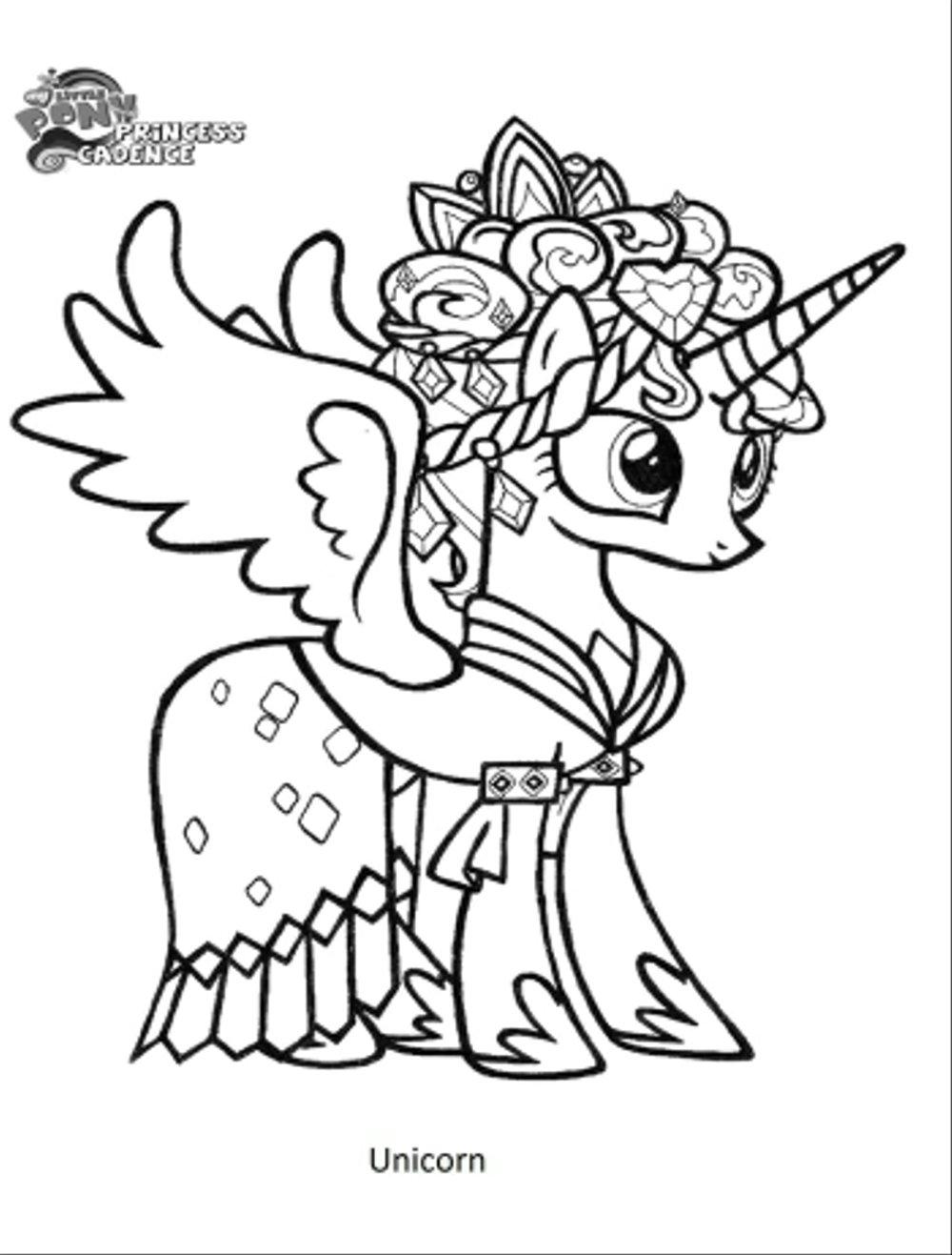Gambar Mewarnai Anak Unicorn Wwwtollebildcom