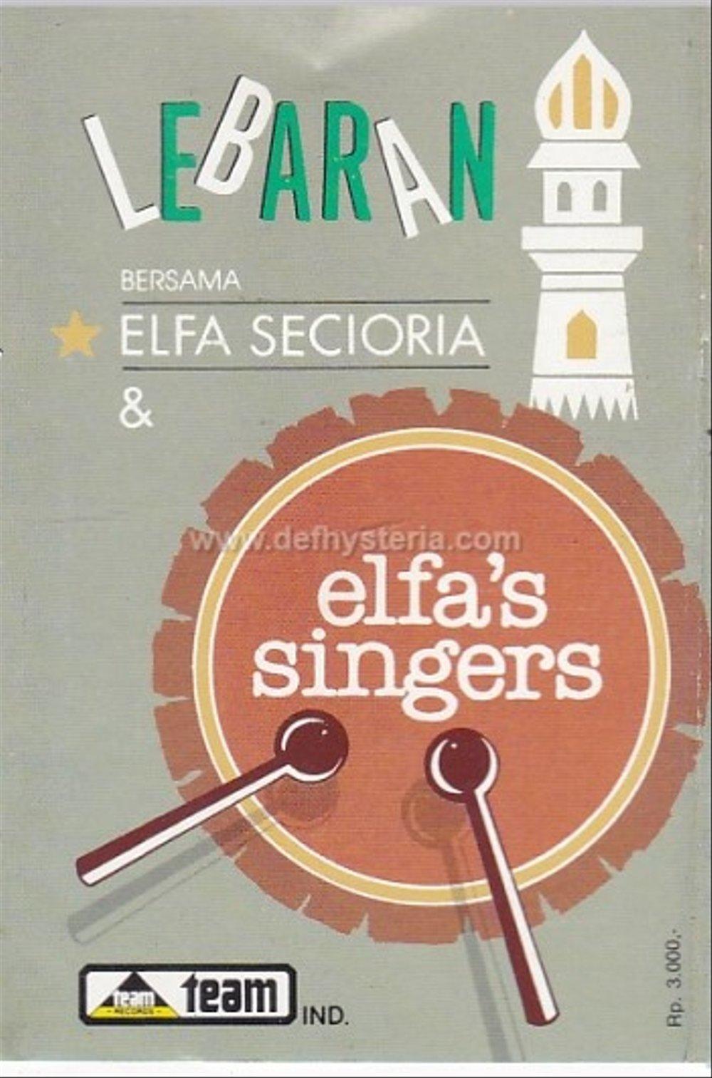 Jual Elfa Secioria Elfas Singers Lebaran Audio Kaset Team