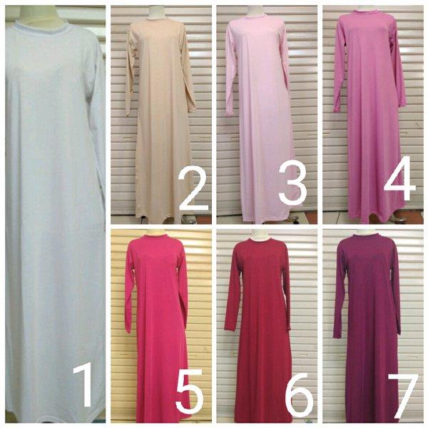 Manset Mangset Gamis Kaos Dalaman Wanita Muslimah Seragam Haji Umroh Ika Fashion Tanah Abang Murah