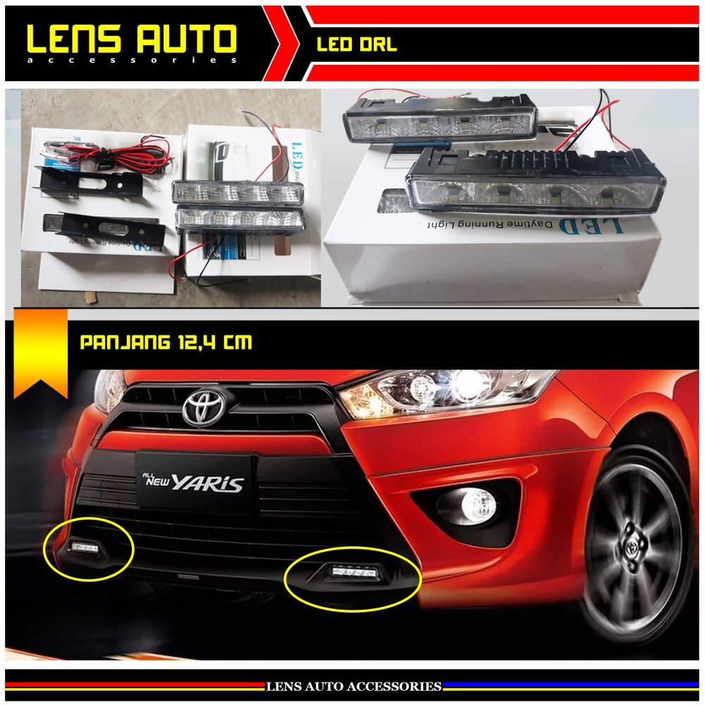 all new yaris trd grand avanza 1.3 g 2018 jual led drl lampu di lapak lens auto