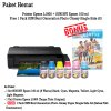 Printer Epson L1800 Tinta SUN NFI 6 Warna BONUS SUN NG Glossy Photo Paper A3