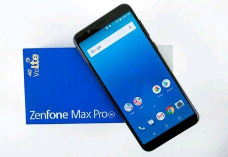Handphone Asus zenfone Max pro M1 gold black termurah