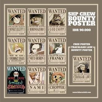 Luffy and the straw hat pirates. Jual Produk Poster Pirates Termurah Dan Terlengkap Desember 2020 Bukalapak