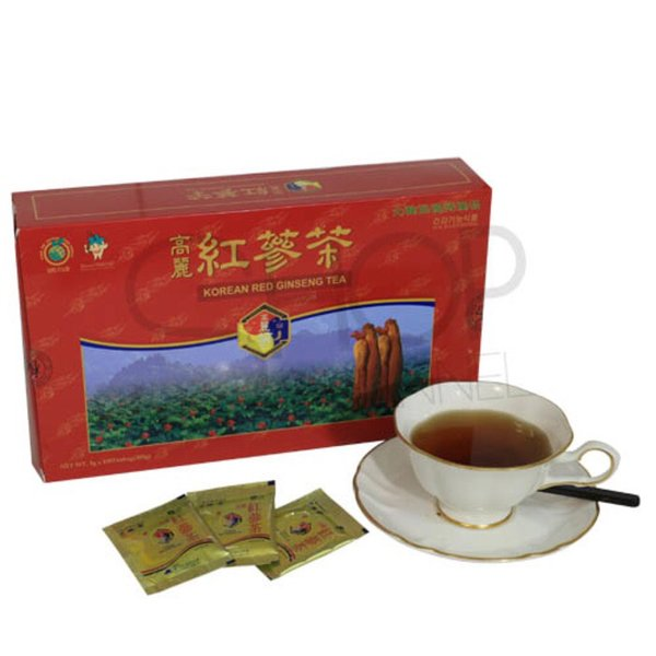 KOREA RED GINSENG TEA isi 50sachet ORIGINAL TEH KESEHATAN KOREA