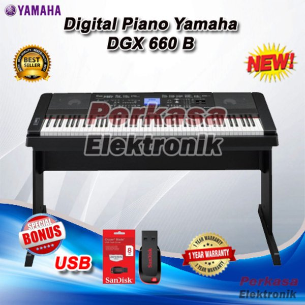 DIGITAL PIANO YAMAHA DGX 660  DGX660  DGX660 JDK