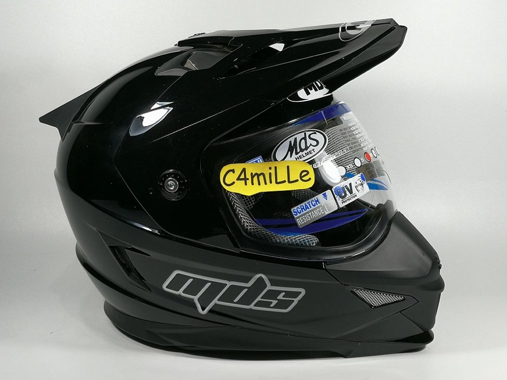 Jual Helm Full face Cross trail MDS Super Pro Double Visor