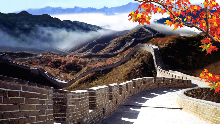 Free Cute Food Wallpaper The Great Wall Of China Wallpaper High Definition High