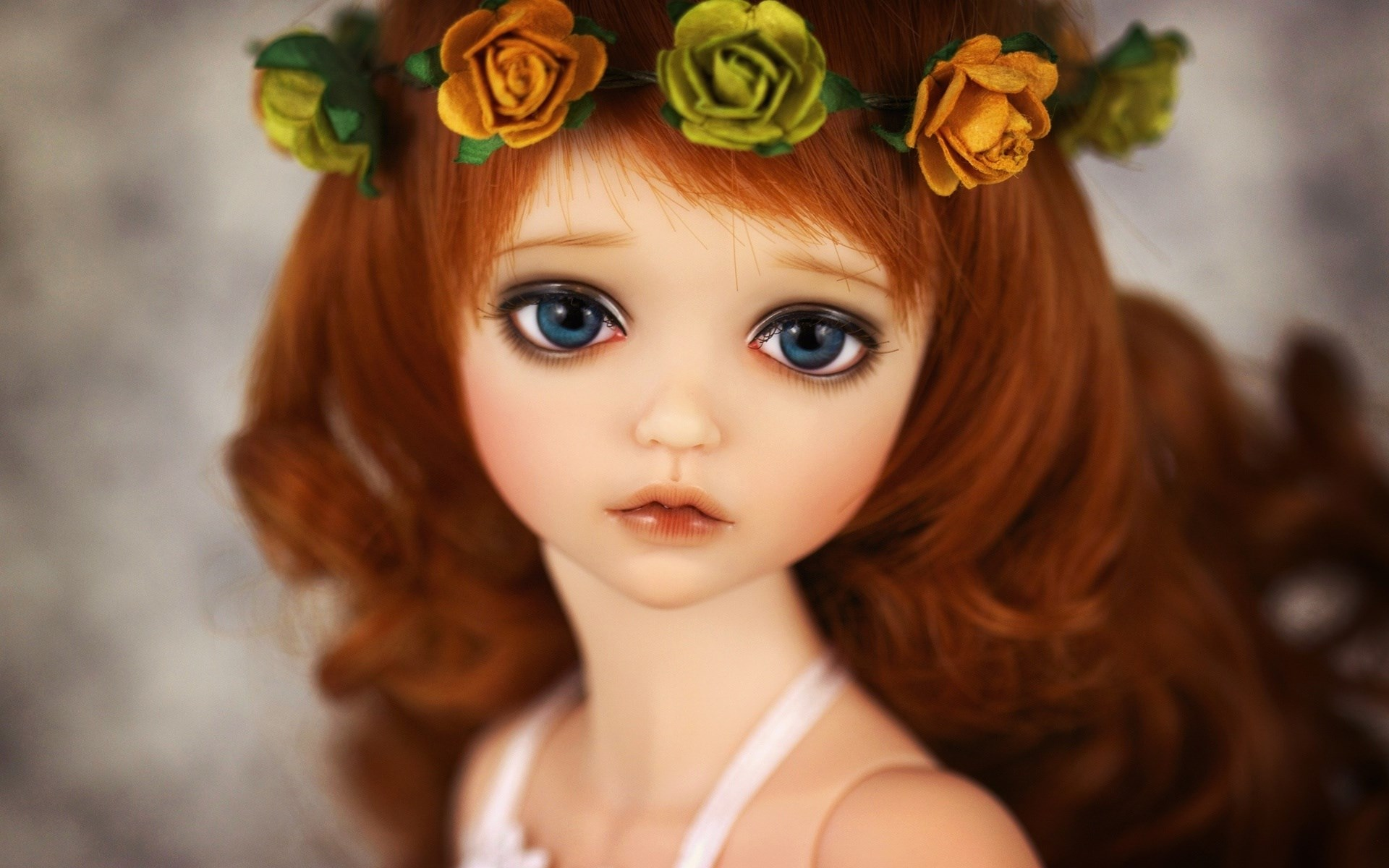 Cute Kids Wallpapers For Whatsapp Profile Doll Flower Crown Background Wallpaper High Definition
