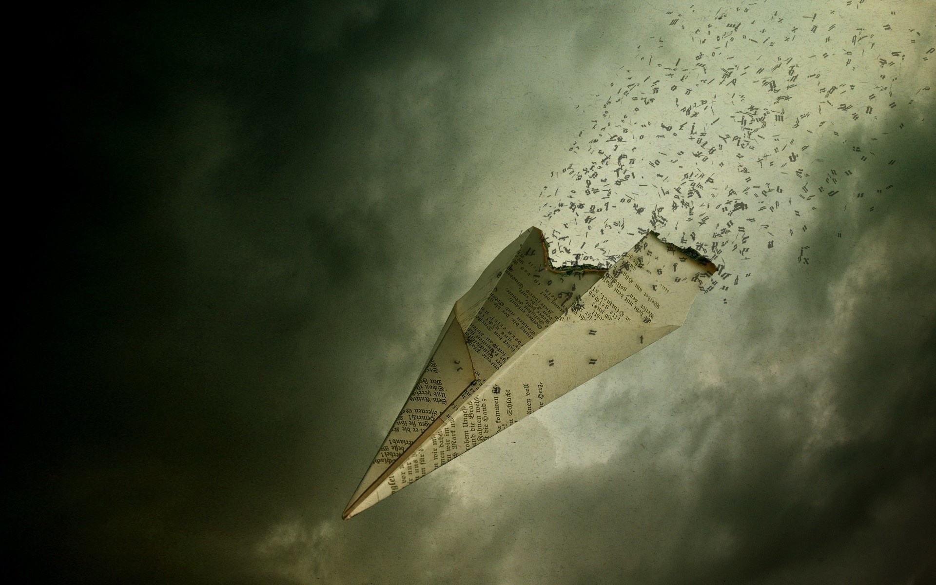 paper airplane wallpaper high