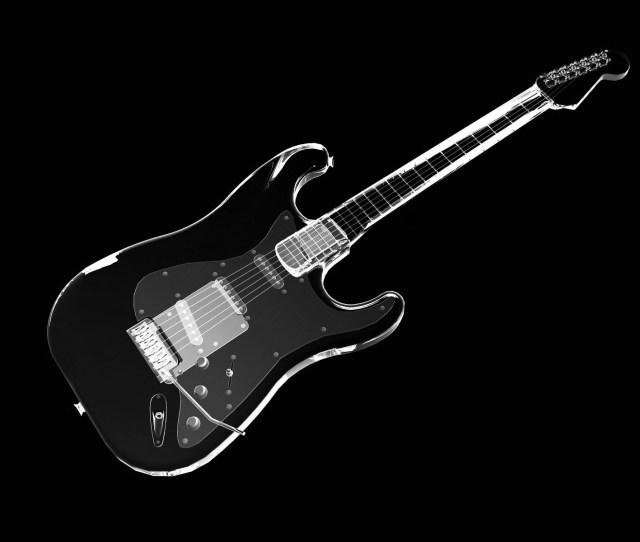 Guitar Black Wallpaper
