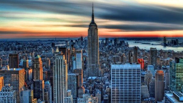 Empire State Building York - Wallpaper High Definition Quality Widescreen