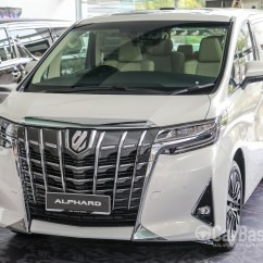All New Alphard 2018 Harga Grand Veloz 2019 Toyota Ah30 Facelift Exterior Image 47576
