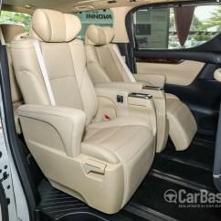 All New Alphard Facelift Grand Avanza E Mt 2018 Toyota Ah30 Interior Image 47626 In Variant 3 5