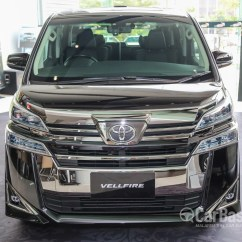 Toyota All New Vellfire 2.5 Zg Edition Camry 2017 Indonesia Ah30 Facelift 2018 Exterior Image 47708