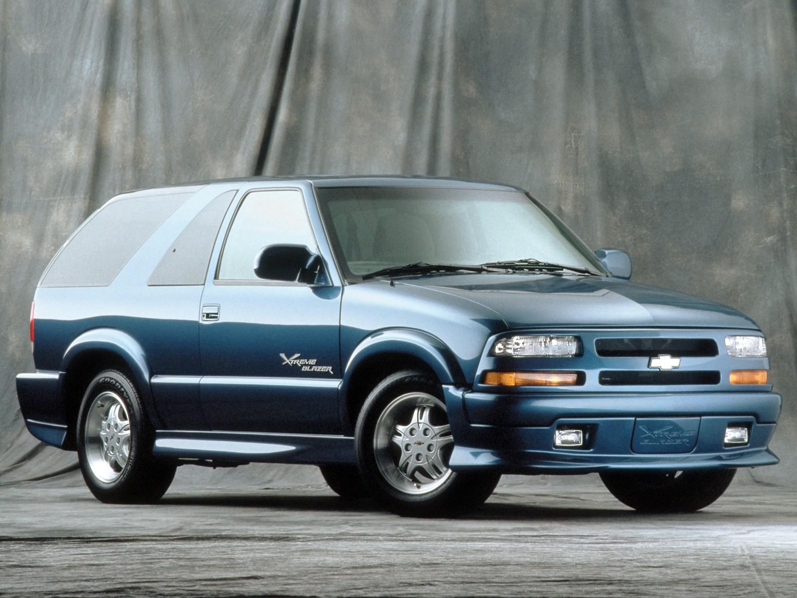 Chevrolet Blazer 3 Doors Specs
