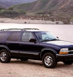 chevrolet blazer 5 doors 1995 2005  [ 1024 x 768 Pixel ]