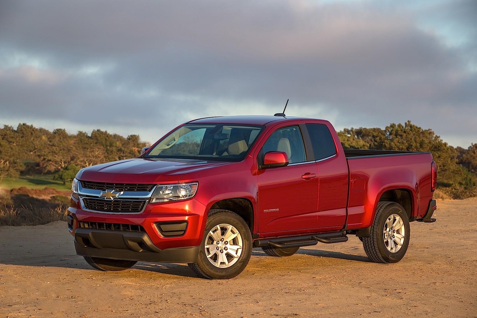 Chevrolet Colorado Extended Cab Specs & Photos  2015