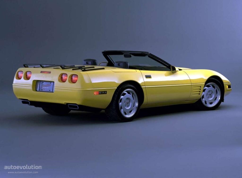 CHEVROLET Corvette C4 Convertible 1984 1985 1986 1987
