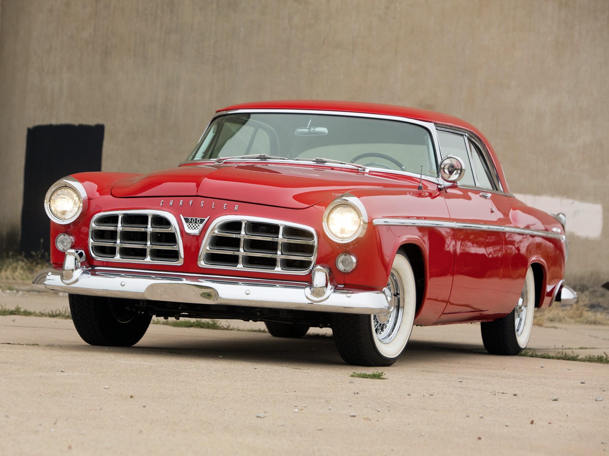 50s Classic Cars Wallpaper Chrysler 300 Sport Coupe 1955 1956 Autoevolution