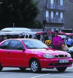 daewoo lanos hatchback 3 doors 1996 2002  [ 1024 x 768 Pixel ]