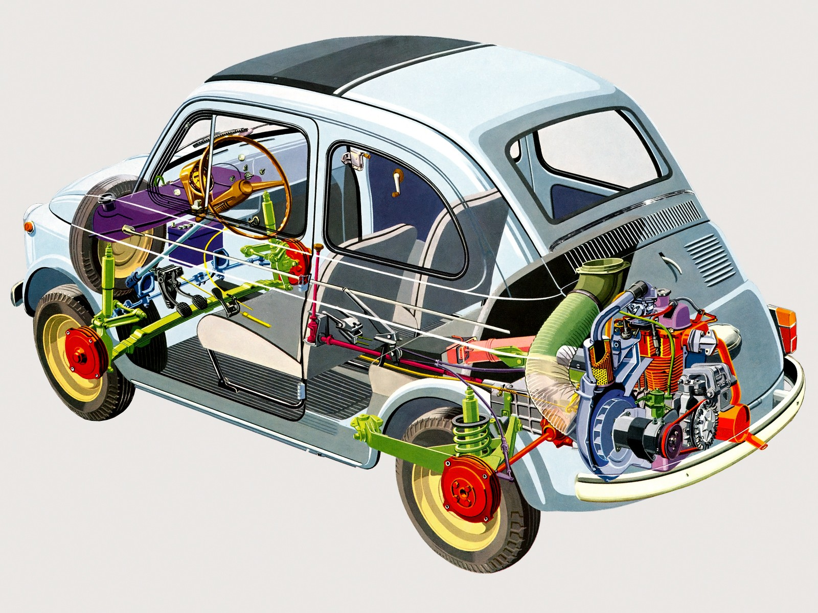 hight resolution of  fiat 500 d 1960 1969