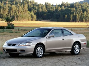 HONDA Accord Coupe  1998, 1999, 2000, 2001, 2002