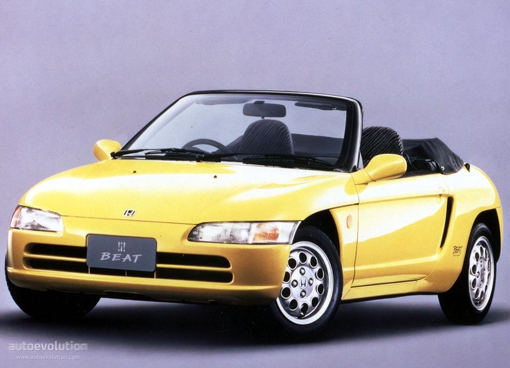 Honda Beat Specs Amp Photos 1991 1992 1993 1994 1995 1996 Autoevolution
