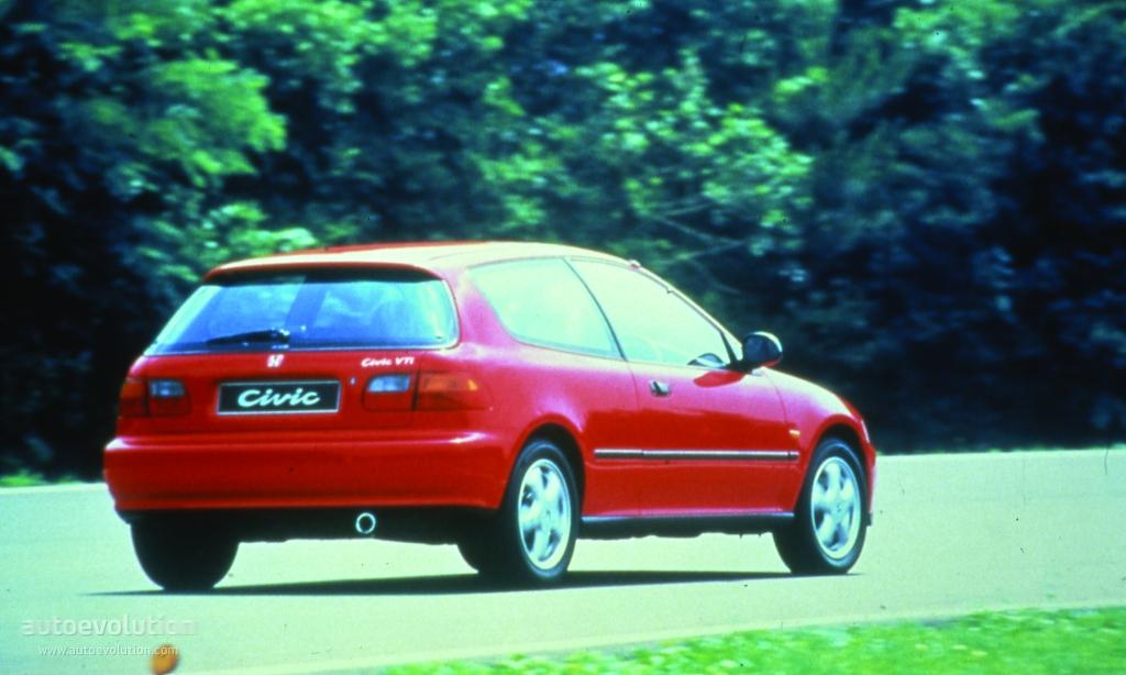 HONDA Civic 3 Doors Specs Amp Photos 1991 1992 1993