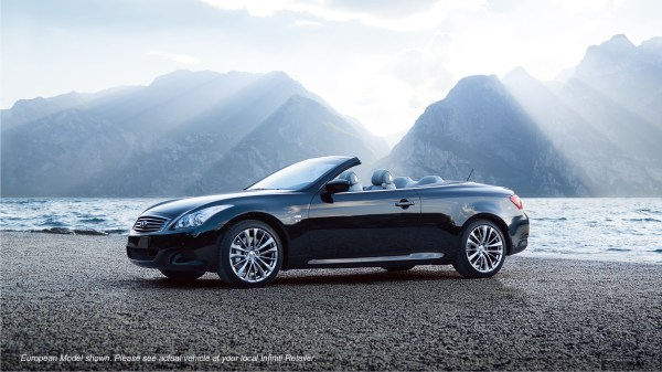 Infiniti Q60 Convertible Roof Open - Year of Clean Water