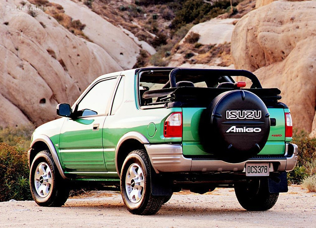 ISUZU Amigo Cabrio Specs & Photos 1998 1999 2000 2001