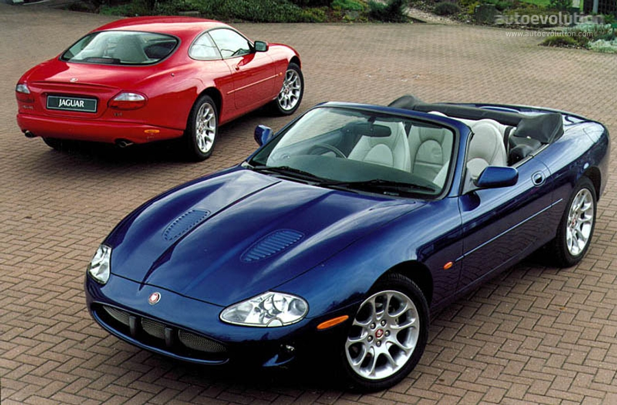JAGUAR XKR Convertible 1998 1999 2000 2001 2002