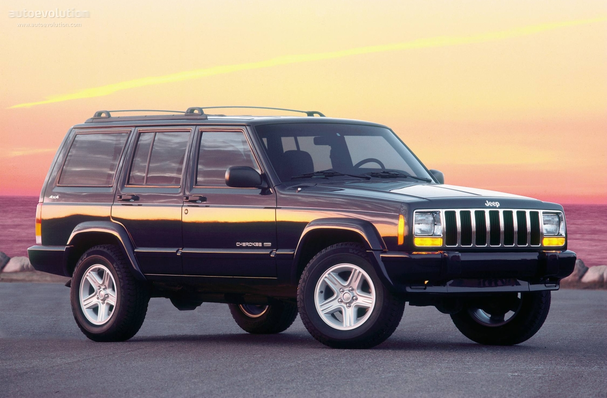 Jeep Cherokee  1997, 1998, 1999, 2000, 2001  Autoevolution