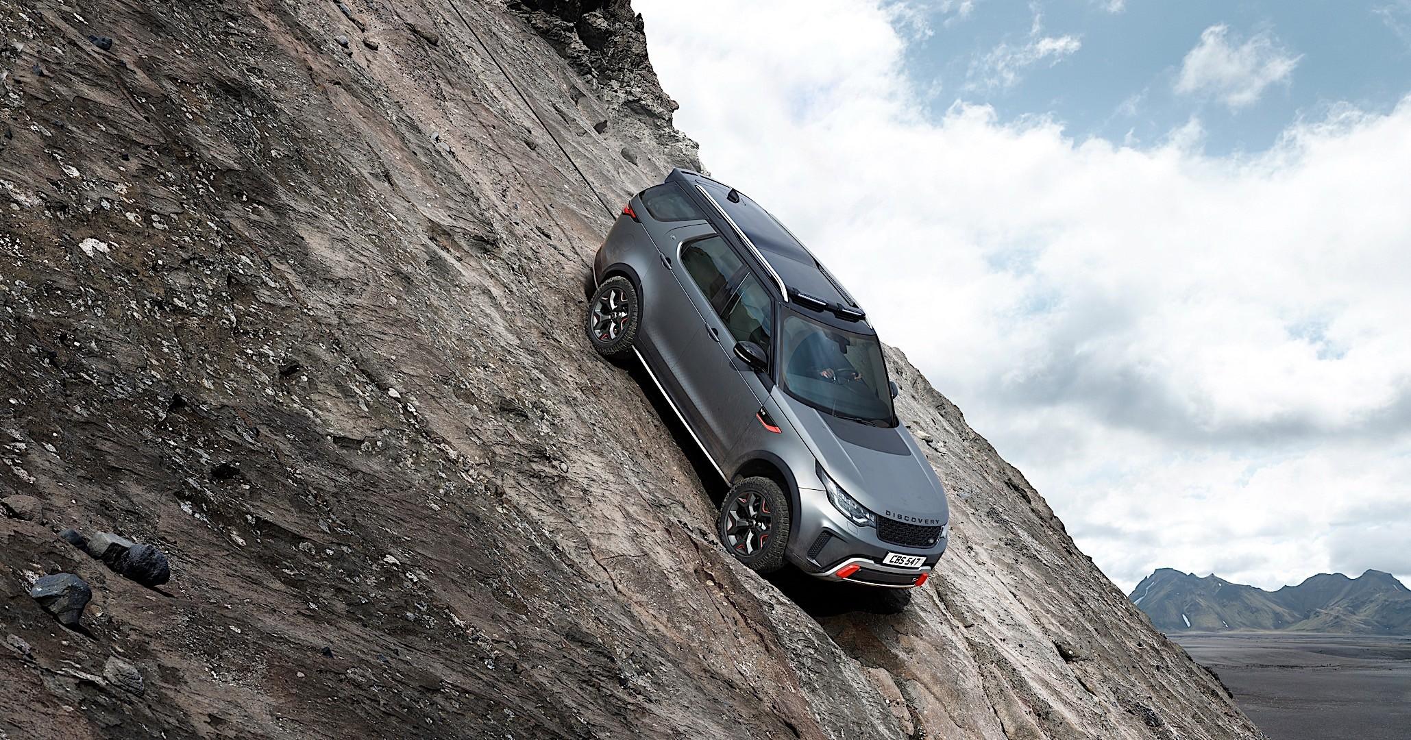 LAND ROVER Discovery SVX specs 2018 autoevolution