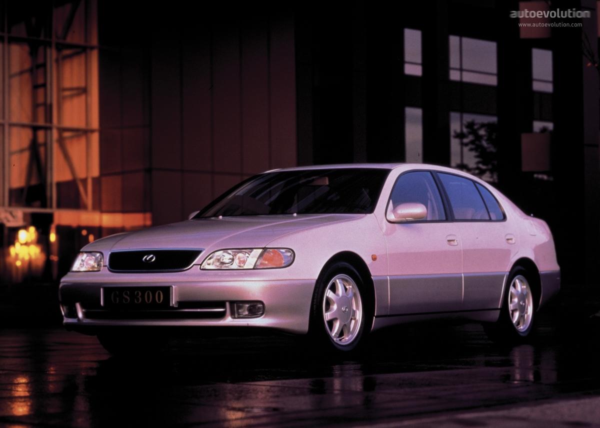 hight resolution of lexus gs 1993 1997