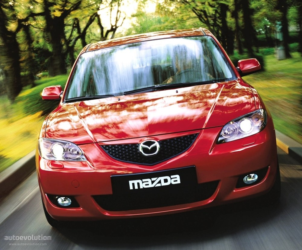 medium resolution of  mazda 3 axela sedan 2004 2009