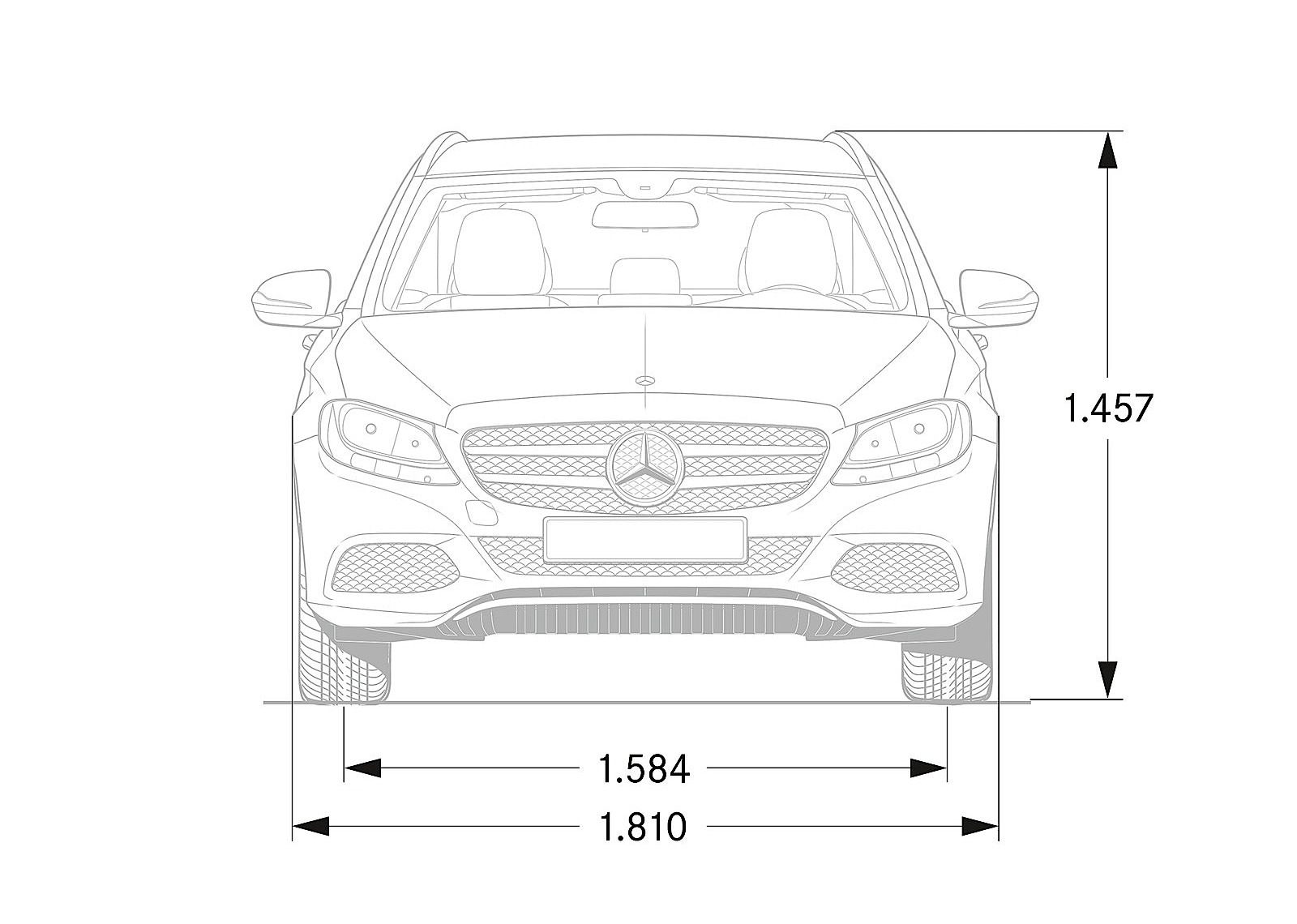 MERCEDES BENZ C-Class T-Modell (S205) specs & photos
