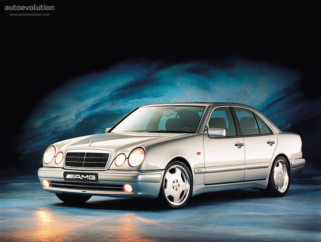 hight resolution of mercedes benz e 50 amg w210 1996 1997