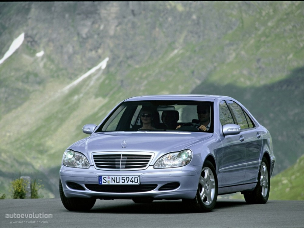medium resolution of mercedes benz s klasse w220 2002 2005