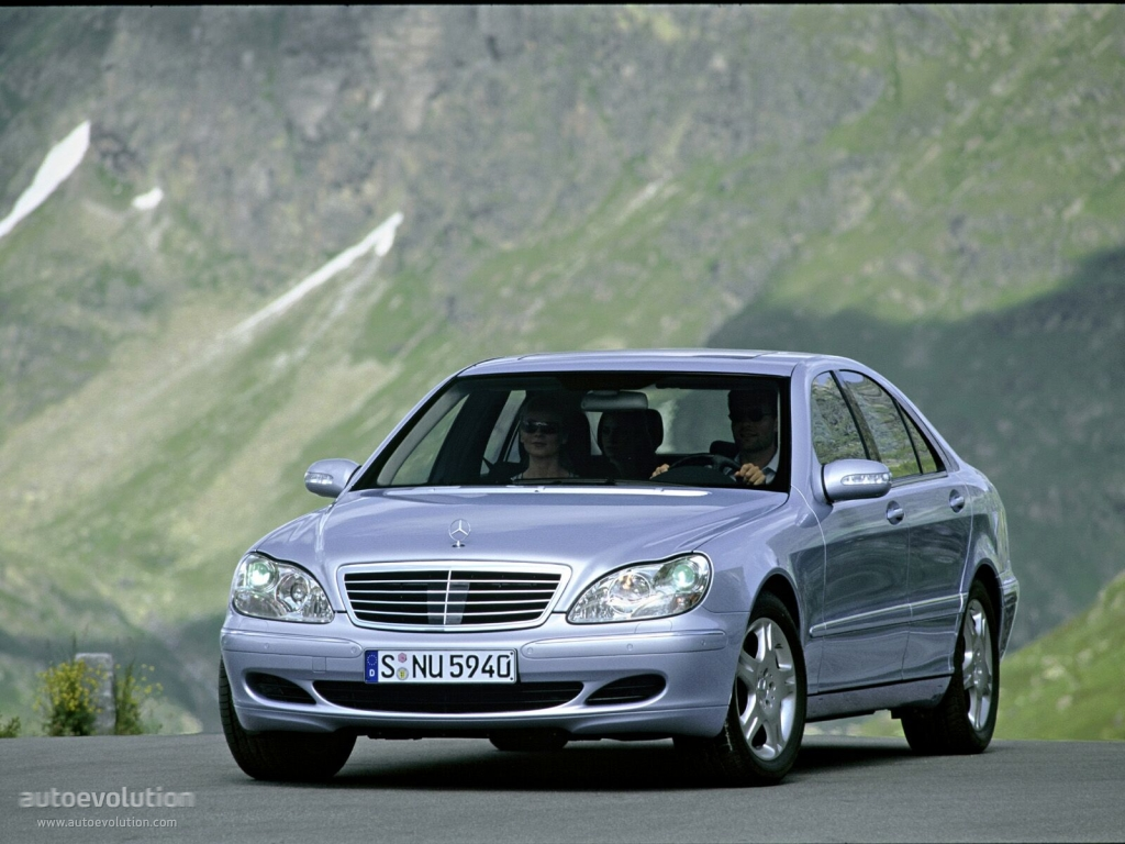 hight resolution of mercedes benz s klasse w220 2002 2005