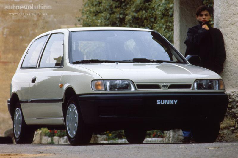 Nissan Sunny 3 Doors Specs Amp Photos 1993 1994 1995