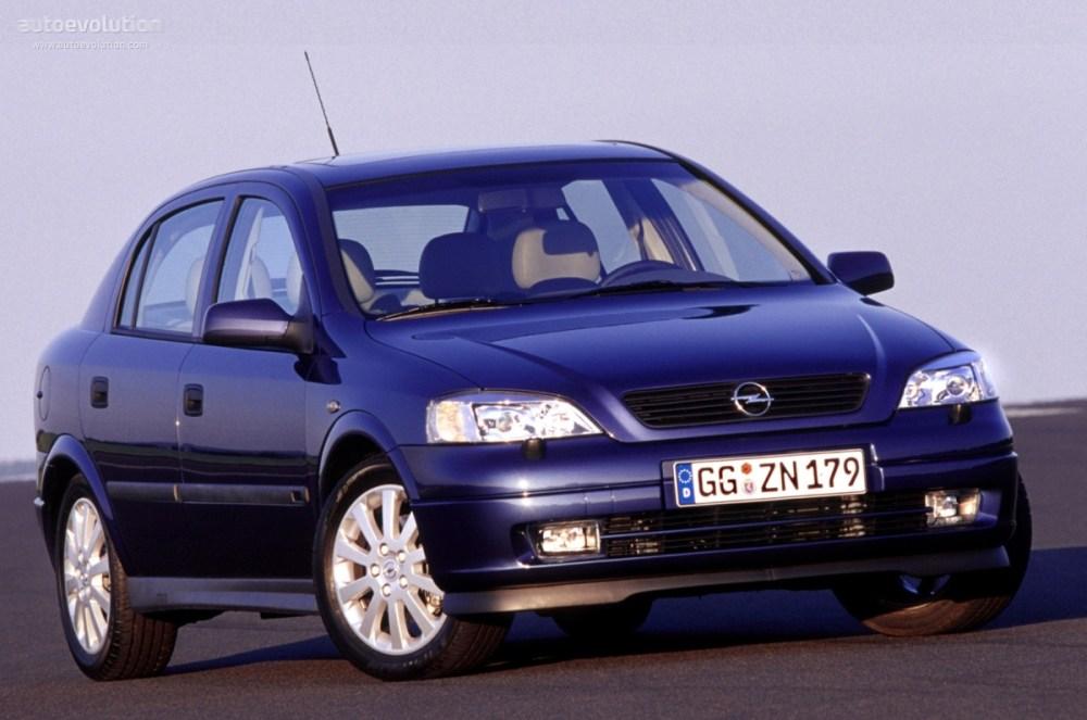 medium resolution of  opel astra 5 doors 1998 2004