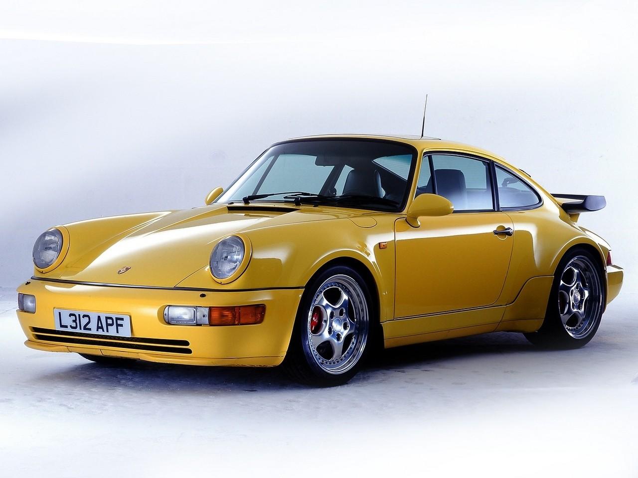 hight resolution of  porsche 911 turbo 964 1990 1995