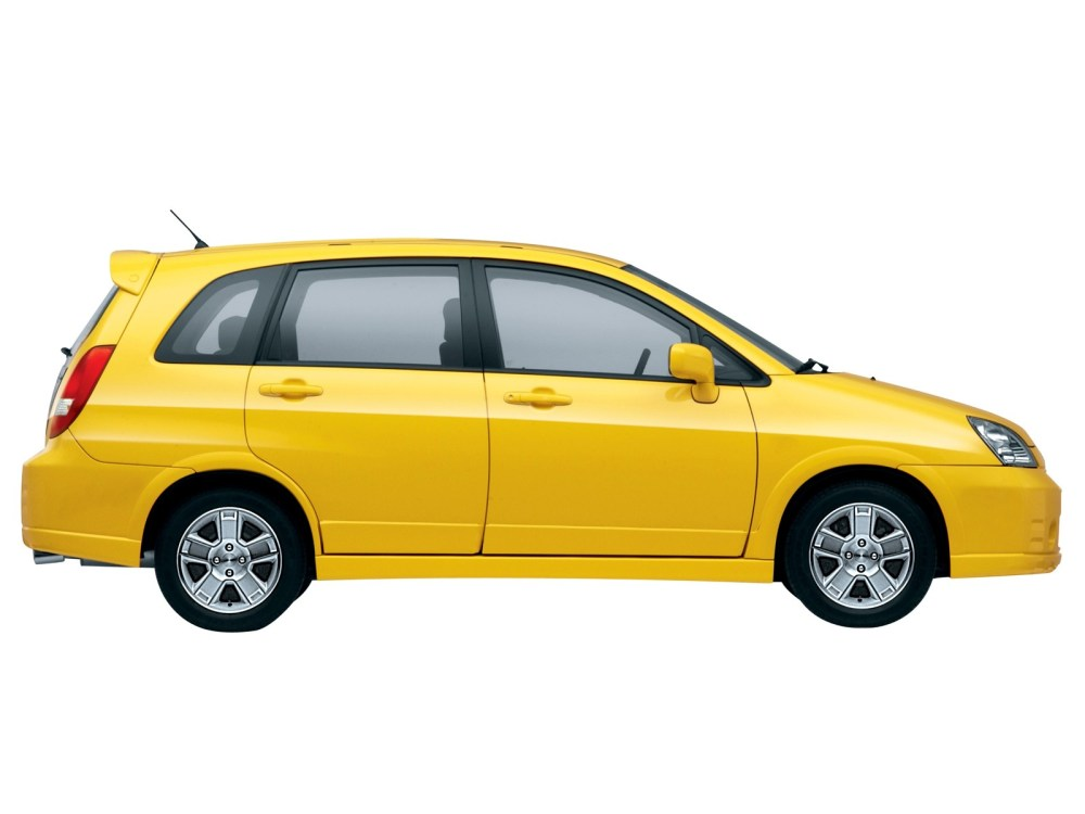 medium resolution of suzuki aerio liana hatchback 2001 2007
