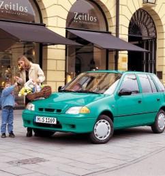 suzuki swift 5 doors 1996 2002  [ 1024 x 768 Pixel ]