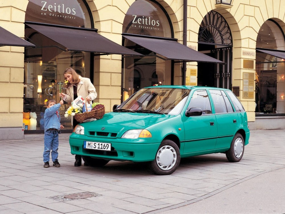 medium resolution of  suzuki swift 5 doors 1996 2002