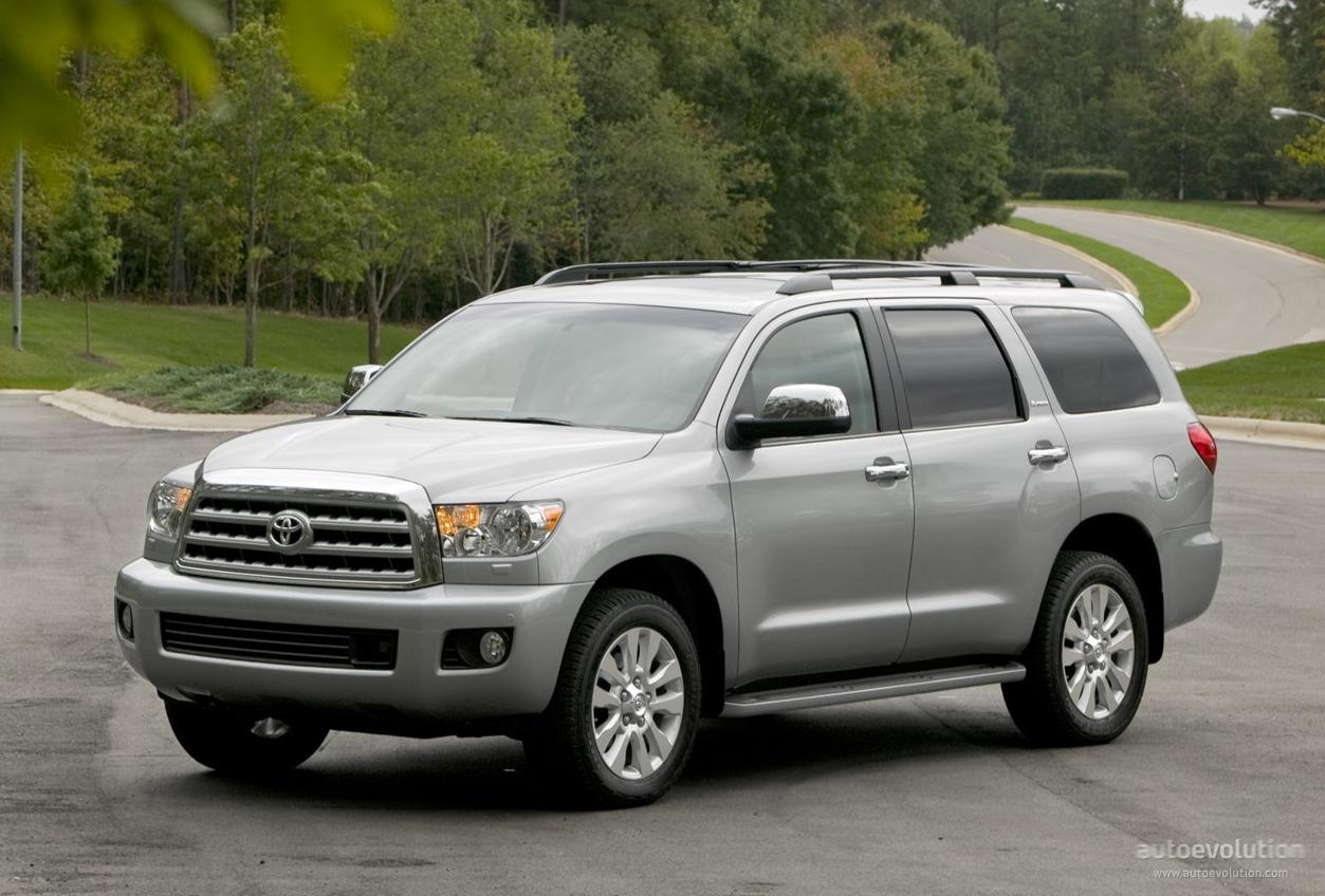 Toyota Sequoia Specs 2007 2008 2009 2010 2011 2012