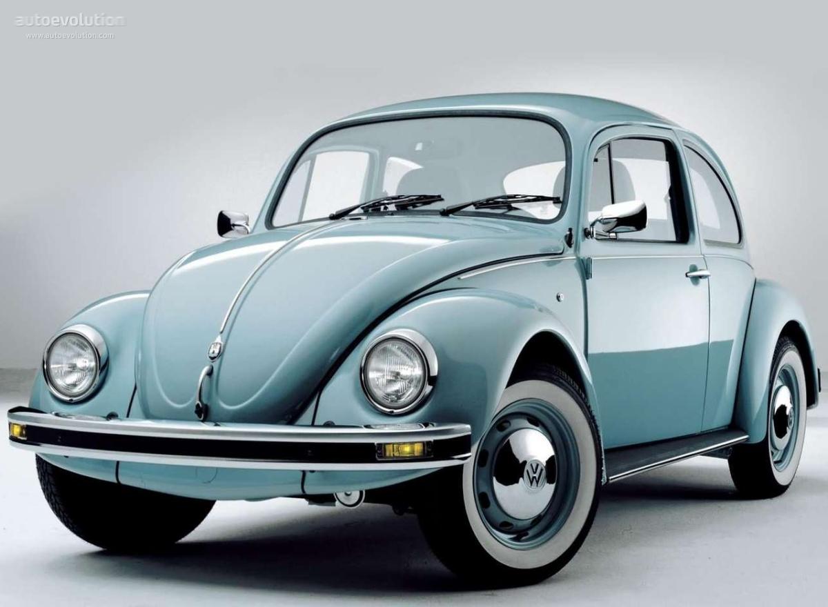 hight resolution of  volkswagen beetle 1945 2003