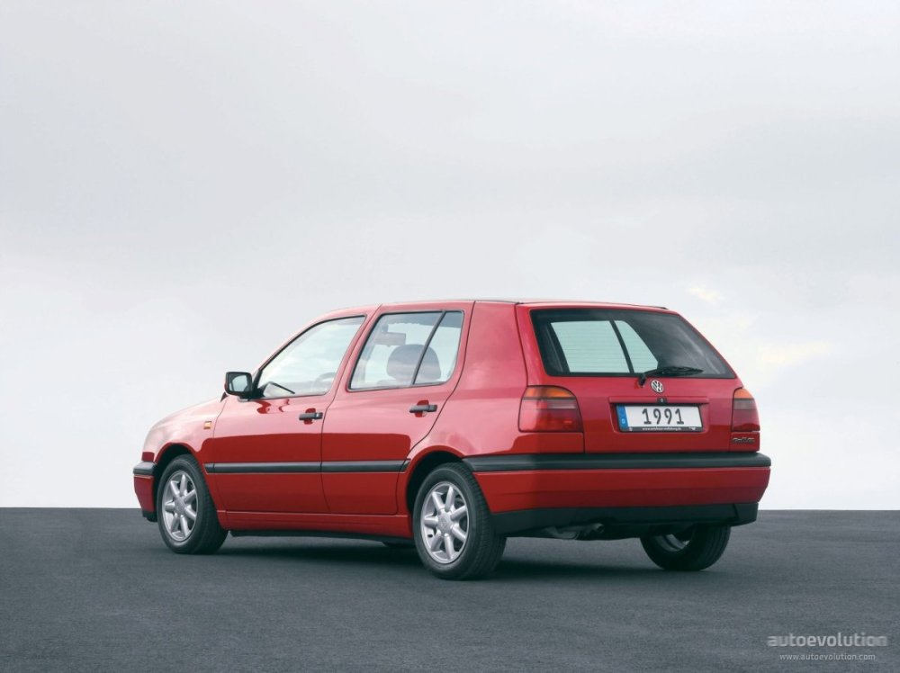 medium resolution of  volkswagen golf iii 5 doors 1992 1997