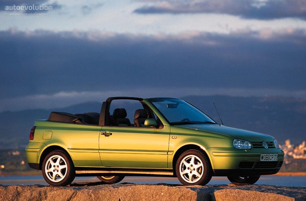 volkswagen golf iv cabrio specs photos - 1998, 1999, 2000, 2001